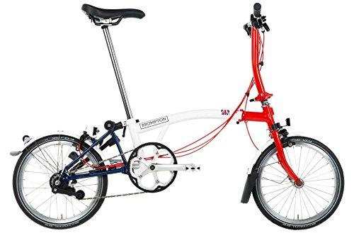 Bicicleta urbana plegable Brompton